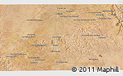 """Satellite 3D Map of the area around 33°4'42""""N,7°34'30""""W"""