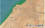 Satellite Map of Dar el Bahloul