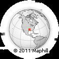 Outline Map of 1013 Reynolds St, rectangular outline