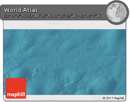 """Satellite 3D Map of the Area around 33°32'52""""N,10°58'29""""W"""