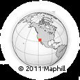 Outline Map of 92236, rectangular outline