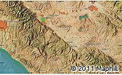 Satellite Map of Hemet