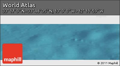"Satellite Panoramic Map of the Area around 33°32'52""N,12°40'30""W"