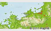 Physical 3D Map of Kyōmachi