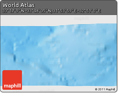 """Shaded Relief 3D Map of the Area around 33°32'52""""N,32°22'30""""E"""