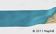 "Satellite Panoramic Map of the area around 33°32'52""N,34°55'29""E"