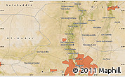 "Satellite Map of the area around 33°32'52""N,44°16'29""E"