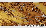 Physical 3D Map of Khorramābād