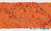 Political 3D Map of Khorramābād