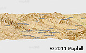 Satellite Panoramic Map of Khorramābād
