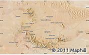 "Satellite Map of the area around 33°32'52""N,53°37'30""E"