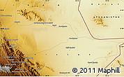 Physical Map of Ḩājjī Ḩaqdād