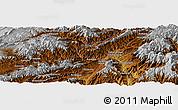 Physical Panoramic Map of Aghīghūl