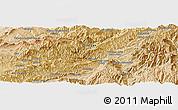 Satellite Panoramic Map of Aghīghūl