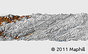Physical Panoramic Map of `Abbās