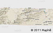 Shaded Relief Panoramic Map of Ghaznī