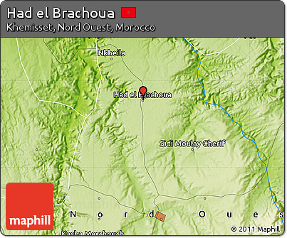 Free Physical Map of Had El Brachoua