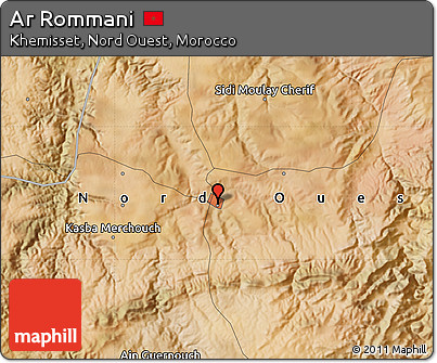Free Satellite Map of Ar Rommani