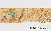 Satellite Panoramic Map of Ouled Chaoui