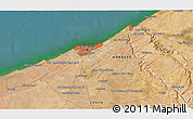 Satellite 3D Map of Sidi Ahmed el Rhandour