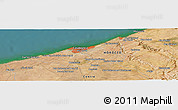 Satellite Panoramic Map of Sidi Ahmed el Rhandour