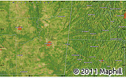 """Satellite Map of the area around 33°32'52""""N,88°19'29""""W"""