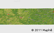 "Satellite Panoramic Map of the area around 33°32'52""N,88°19'29""W"