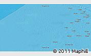 Political 3D Map of Kebili