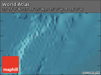 """Satellite Map of the Area around 33°32'52""""N,9°16'30""""W"""