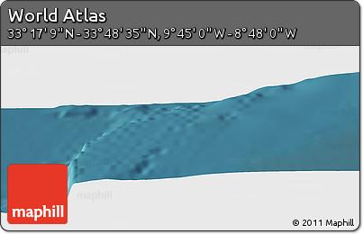 "Satellite Panoramic Map of the Area around 33°32'52""N,9°16'30""W"