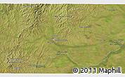 Satellite 3D Map of Treinta y Tres