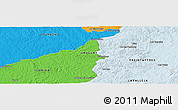 Political Panoramic Map of Molles del Pescado