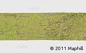 Satellite Panoramic Map of Molles del Pescado