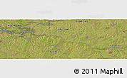 Satellite Panoramic Map of Durazno
