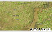 Satellite 3D Map of Fray Bentos