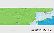 Political Panoramic Map of Fray Bentos