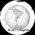 Outline Map of Uranga, rectangular outline