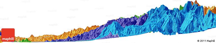 Political Horizon Map of Santiago
