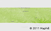 "Physical Panoramic Map of the area around 33° 42' 13"" S, 119° 4' 29"" E"
