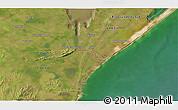 Satellite 3D Map of El Ceibo