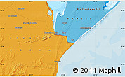 Political Map of El Ceibo