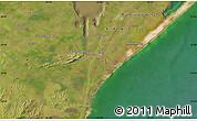 Satellite Map of El Ceibo