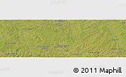Satellite Panoramic Map of La Pedrera
