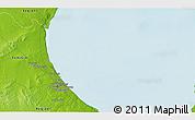 Physical 3D Map of Gabès