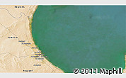 Satellite 3D Map of Gabès