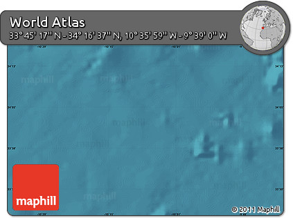 """Satellite Map of the Area around 34°0'57""""N,10°7'30""""W"""