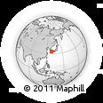 Outline Map of Azu, rectangular outline