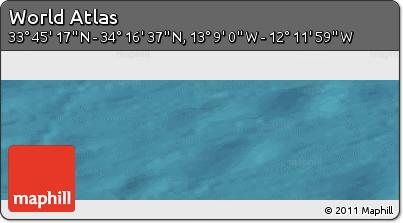 "Satellite Panoramic Map of the Area around 34°0'57""N,12°40'30""W"