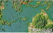 Satellite Map of Hiro