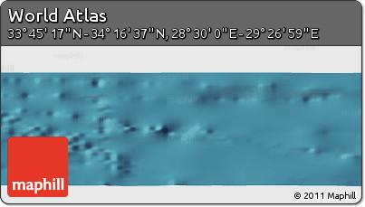 "Satellite Panoramic Map of the Area around 34°0'57""N,28°58'30""E"